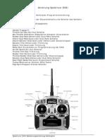 Anleitung Spektrum DX6i Heli Deutsch