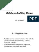 Db Auditing Models