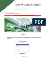 Manual Book Pendaftaran Online RAWAT JALAN