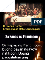 Holy Thursday Mass 2015