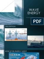 Holi wave energy