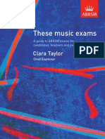 These Music Exams 0607