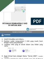 Cara Membuat 2 VHD Di VirtualBox