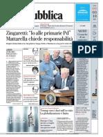 La Repubblica Del 9 Marzo 2018