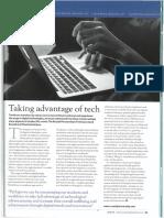 Taking Advantage of Tech