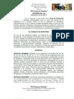 Acuerdo Nro. 08-Septiembre 09 de 2010 Mod EOT