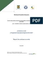 Raportul de Evaluare Ex-Ante POR 2014-2020 RO