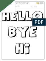 1st Class - Greeting