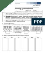 Diagnostico Matematica 1° Basico 2018