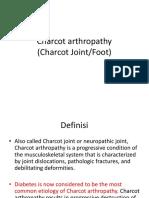 Charcot Arthropathy