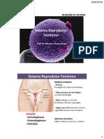 Aula Sistema Reprodutor Feminino - Versao Roteiro de Estudo