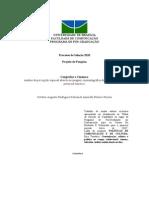 Plano de Pesquisa Mestrado FAC UNB 2010