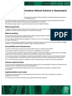 Qld Container Refund Scheme Consultation Results