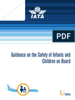 IATA Guidance Safety of Infants Children OnBoard