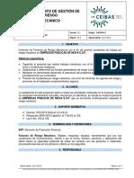 Ga-pr-h11 Procedimeinto de Gestion de Riesgo Mecanico
