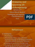 Verdrängung und Anpassung als Überlebensprinzip.ppt