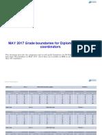 2017-05 Grade Boundaries