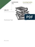 7 - CELTA Precourse Task