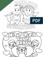 Gambar Pertandingan Mewarna Poster Antidadah