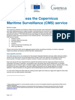 How to Access the Copernicus Maritime Surveillance Service