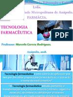 Introdução a tecnologia farmacêutica