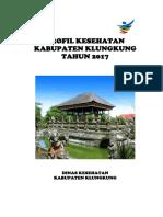 Profil Dinas Kesehatan Kabupaten Klungkung Tahun 2017
