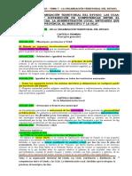 Tema 7 - La Organización Territorial Del Estado Español