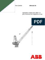 ABB ACS800 Crane 7.2 Firmware PT