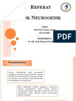 Syok Neurogenik PPT
