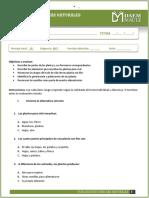 Clase 12 - Evaluación Las Plantas