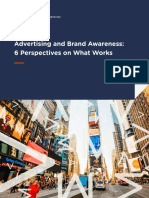 AdvertisingandBrandAwareness 6 Perspectives on What Works E Book AMA 2018
