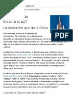 ¿Murió Jesús en una cruz_ _ Preguntas sobre la Biblia.pdf