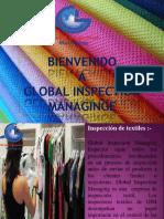 Inspección de textile a GIM