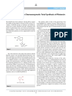 CFZ Synform Banwell Chemoenzymatic Total Synthesis of Platencin SYNLETT HL