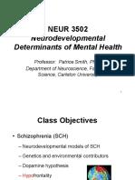 NEUR3502 Lectures 11