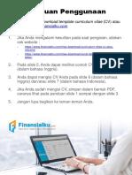 Template CV dan Surat Lamaran Pekerjaan.pptx