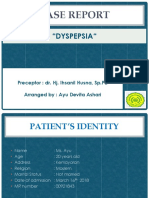 Case Report Dyspepsia
