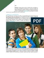 Cambios Psicologicos en Adolescentes