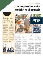 Los Emprendimientos Sociales en El Mercado