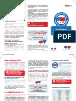 Dépliant Aides France