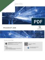Manual Peugeot 208