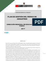 Plan G. Riesgos Desastres-DREPASCO-12072017