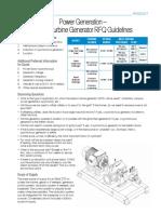TUR.308 Power Generation Steam Turbine Generator RFQ Guidelines