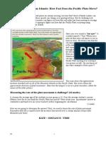 Plate Tectonics Activity and Quiz