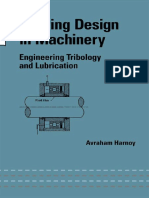 Libro Bearing Design in Machinery by a. Harnoy