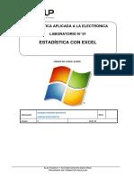 Lab 01 Estadística Con Excel