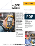 1. Air Velocity Fluke 922 Kit Air Tester Datasheet