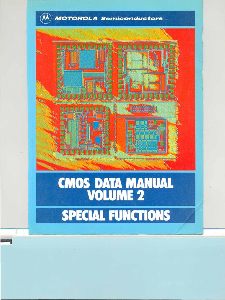 Motorola SeminarsandApplicationBooksCMOSDataManualVolume2 ...