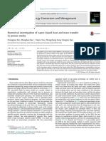 Numerical investigation of vapor–liquid heat and mass transfer in porous media