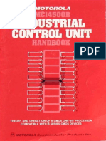 MC14500B Industrial Control Unit Handbook 1977